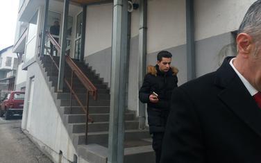 Kordić juče ispred suda u Bijelom Polju