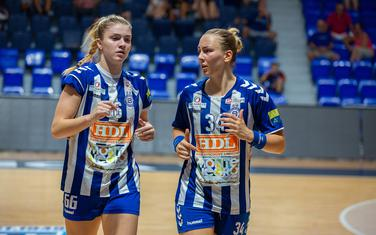Tandem na crti očekuje zahtjevan meč: Ema Ramusović i Tatjana Brnović