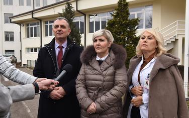 Hrapović i Sekulić u posjeti Beranama