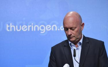 Tomas Kemerih, pokrajinski premijer Tiringije iz redova liberala izabran glasovima Liberala, Demohrišćana i AfD