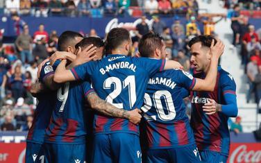 Slavlje fudbalera Levantea