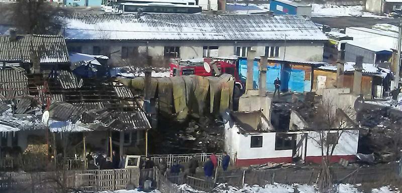 Barake poslije požara