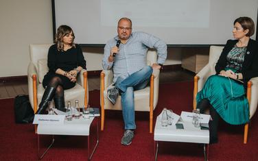 Daliborka Uljarević, Siniša Luković i Jovana Marović