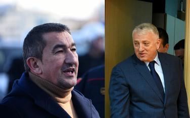 Duško Golubović i Zoran Lazović