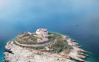 """Plan da autentično i unikatno mjesto dobije šansu za novi život"""": Budući izgled ostrva sa tvrđavom"""