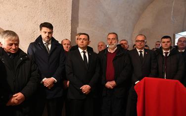Vulin na liturgiji u manastiru Kostrikovača u Rovcima povodom 20 godina od atentata na Bulatovića