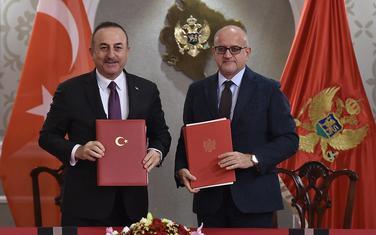 Čavušoglu i Darmanović