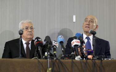 Abas i Olmert