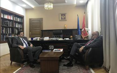 Sa sastanka Božovića i Darmanovića