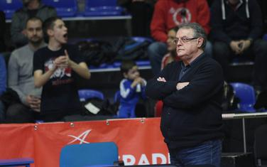 Nebojša Čović na meču sa Partizanom