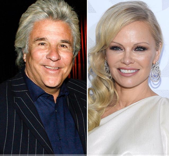 Pamela Anderson i Džon Piters