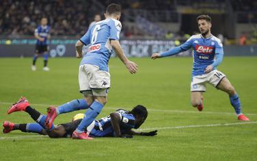 Sa utakmice Inter - Napoli