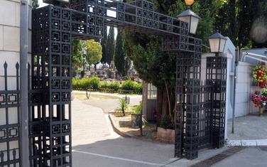 Ulaz na groblje na Čepurcima