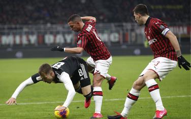 Sa meča Milan - Juventus