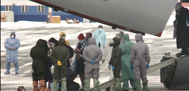 Ruski građani evakuisani iz Kine su u karantinu u Tjemenu u Sibiru