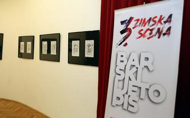 Sa izložbe Bratislava Medojevića u Baru