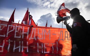 Sa protesta u Moskvi