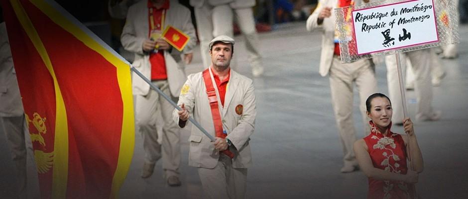 Veljko Uskoković je nosio zastavu u Pekingu 2008.