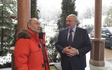 Sa jednog od susreta Putina i Lukašenka