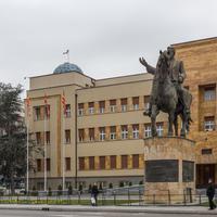 Zgrada parlamenta Sjeverne Makedonije