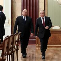 Mišustin i Putin