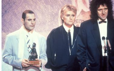 Kvin na dodjeli nagrade 1990. godine