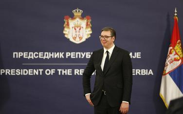 Predsjednik Srbije Aleksandar Vučić na Dan državnosti Srbije 15. februar