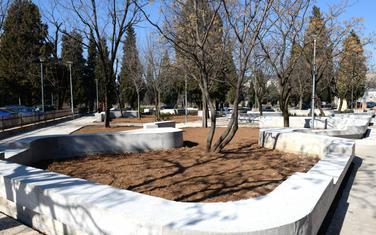 Završni radovi u novom parku