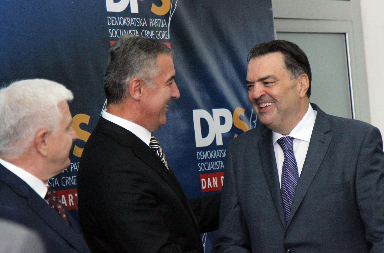 Marković i Đukanović sa Kneževićem