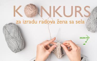 Konkurs za izradu radova žena sa sela
