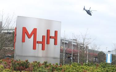 Helikopter iznad bolnice u Hanoveru