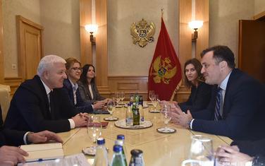 Sa sastanka Markovića i predstavnika CeMI