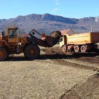 Radovi na izgradnji budućeg terena