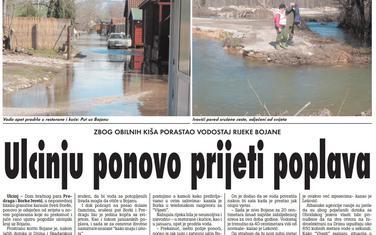 """Strana """"Vijesti"""" od 28. februara 2010."""