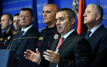 Za uvredu direktora policije 500 eura: Veljović sa saradnicima
