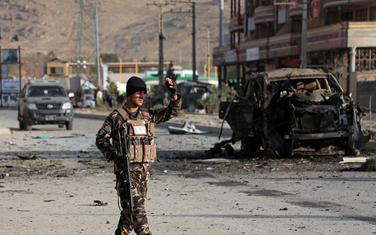 Pripadnik avganistanskih bezbjednosnih snaga