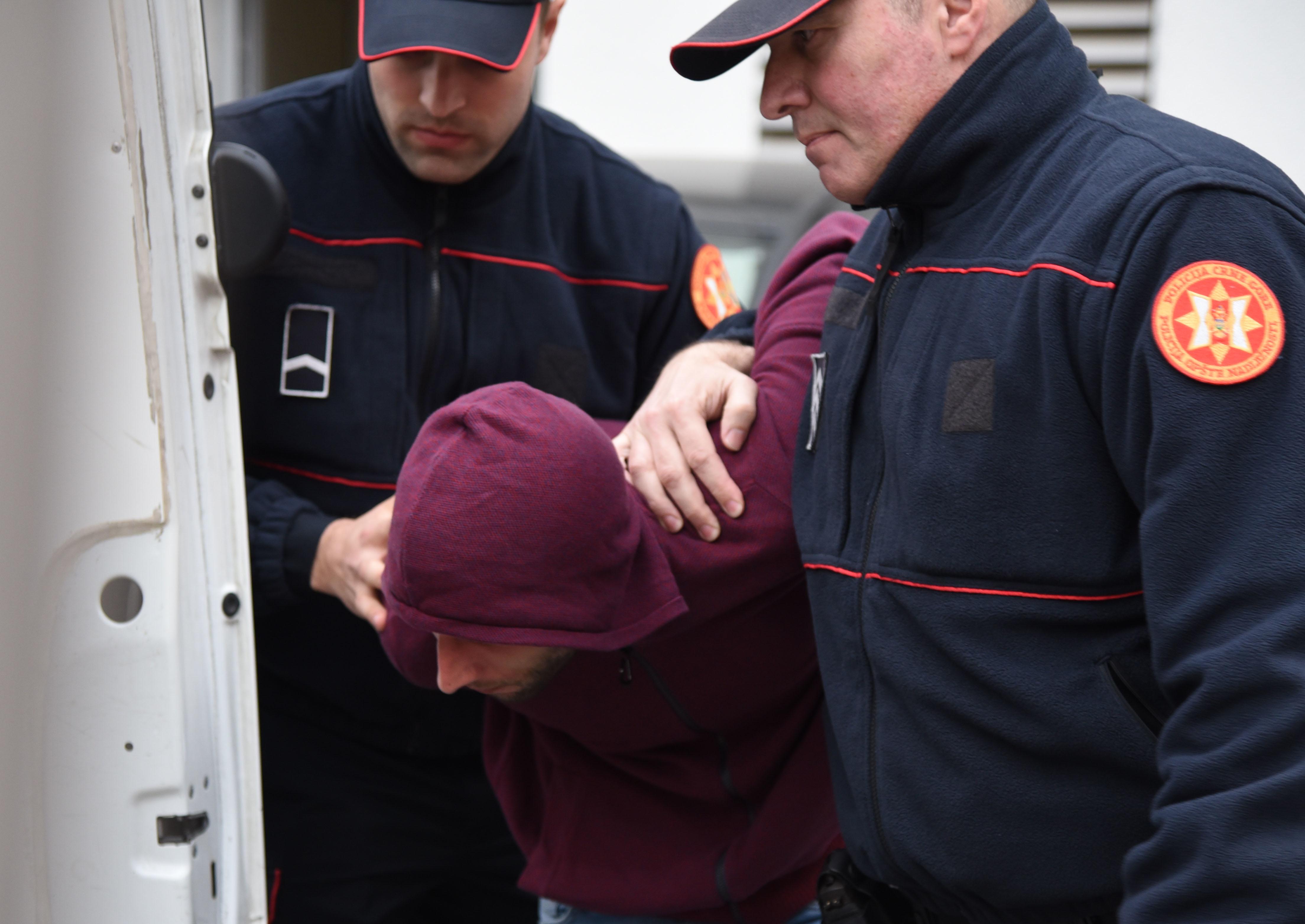 Privođenje osumnjičenog za pomaganje ubice