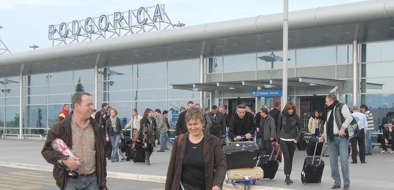 """Veliki projekat i """"spas za budžet"""" na čekanju: Aerodrom Podgorica (arhiva)"""