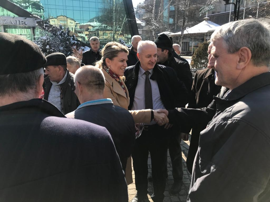Vuksanović sa građanima Rožaja