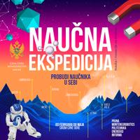 """Plakat projekta """"Naučna ekspedicija"""""""