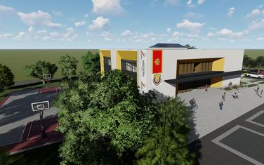 Kompjuterska animacija budućeg izgleda škole u Donjoj Lastvi