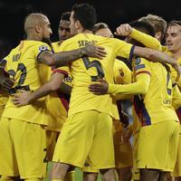Fudbaleri Barselone slave gol u Napulju
