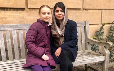 Greta Tunberg i Malala Jusufzai