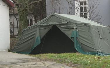 Šatori bili postavljeni ispred KCCG
