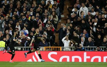 Gabrijel Žezus slavi gol u Madridu