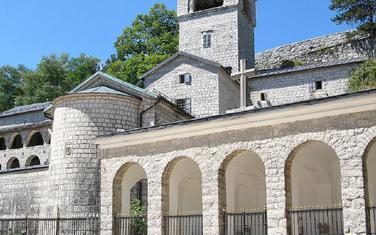 Cetinjski manastir/ilustracija