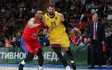 Nikola Mirotić na večerašnjoj utakmici