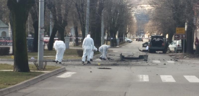 Uviđaj juče nakon eksplozije na Cetinju