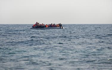Migranti. ilustracija