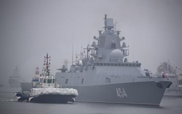 Ruska fregata (ilustracija)